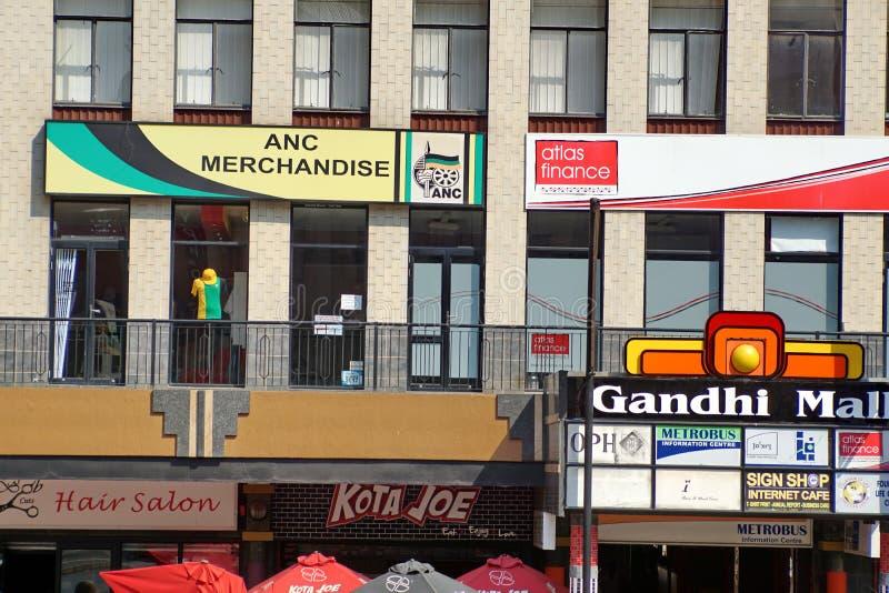 Place de Gandhi dans le CBD de Johannesburg photos libres de droits