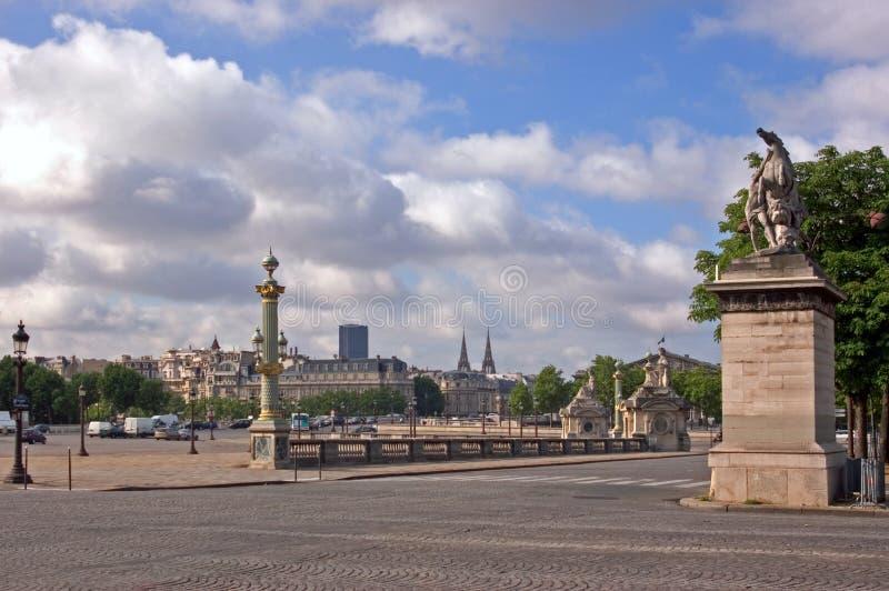 Place de la Concorde stockfotografie