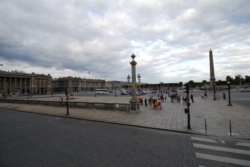Place DE La Concorde, hemel, stadsvierkant, oriëntatiepunt, openbare ruimte royalty-vrije stock fotografie