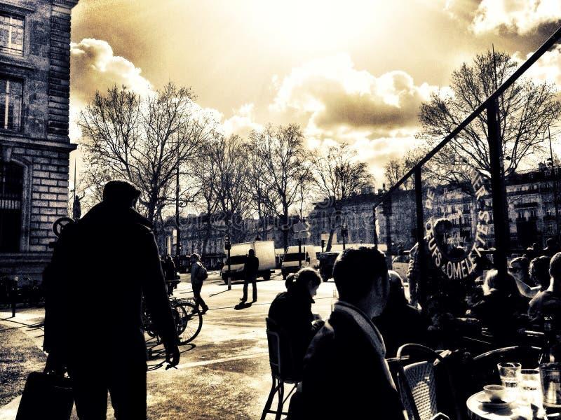 Place de la Republique Paris lizenzfreies stockfoto