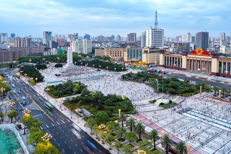 Place de Nan-Tchang Bayi photo libre de droits