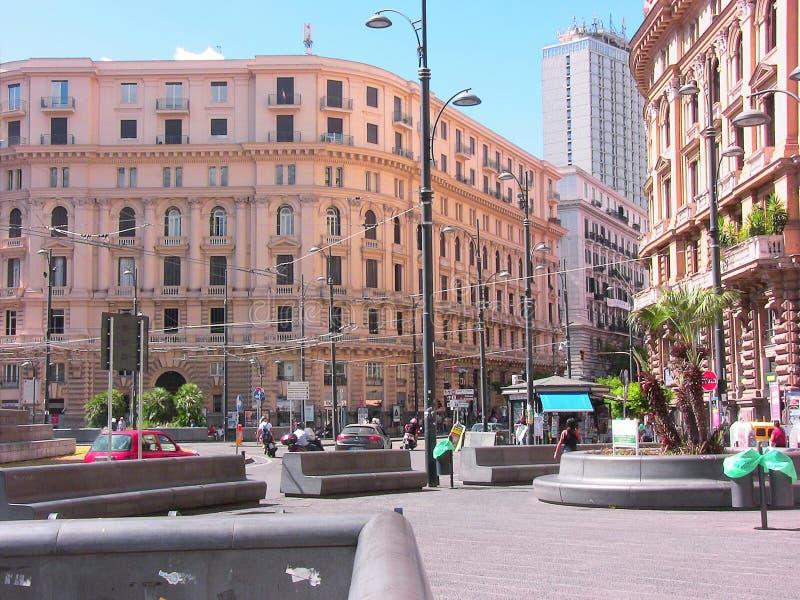 Place 2 de Naples Bovio photos libres de droits