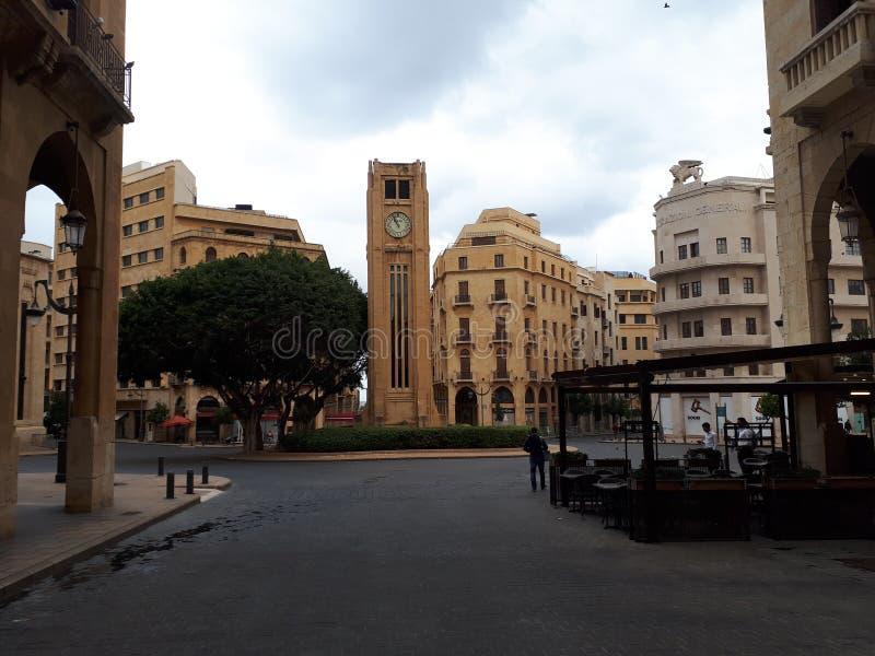 Place de Nijmeh image libre de droits
