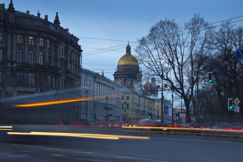 Place de palais, St Petersburg, Russie image stock