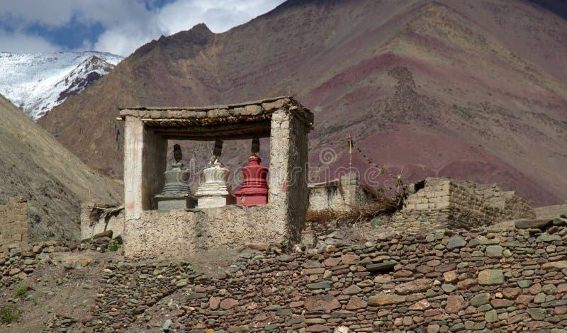 Place de prière de bouddhisme de nature photo libre de droits