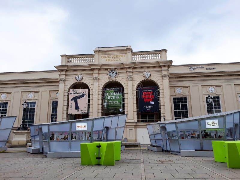 Place de Quartier de musées image libre de droits