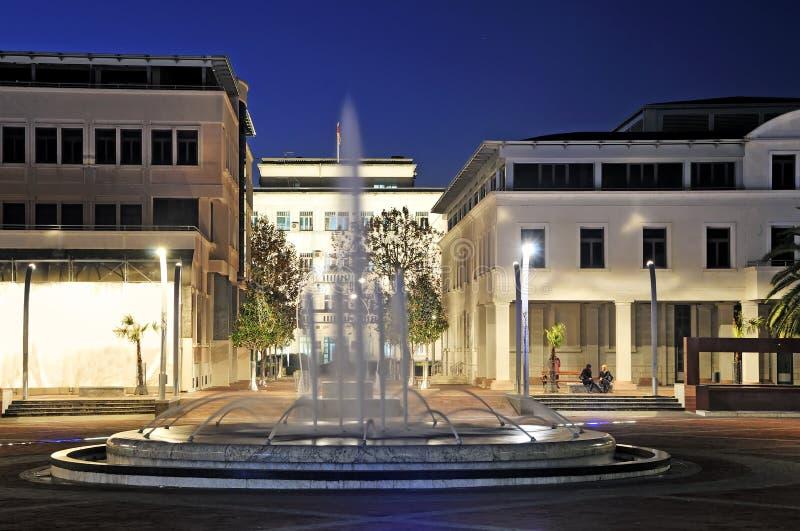Place de République de Podgorica photos libres de droits
