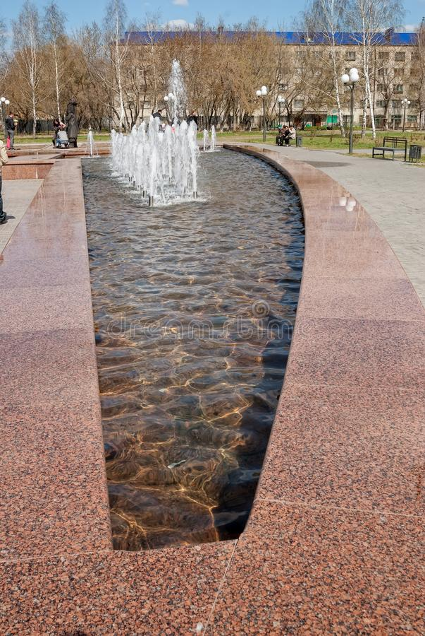 Place de Robinson Crusoe Tobolsk photos stock
