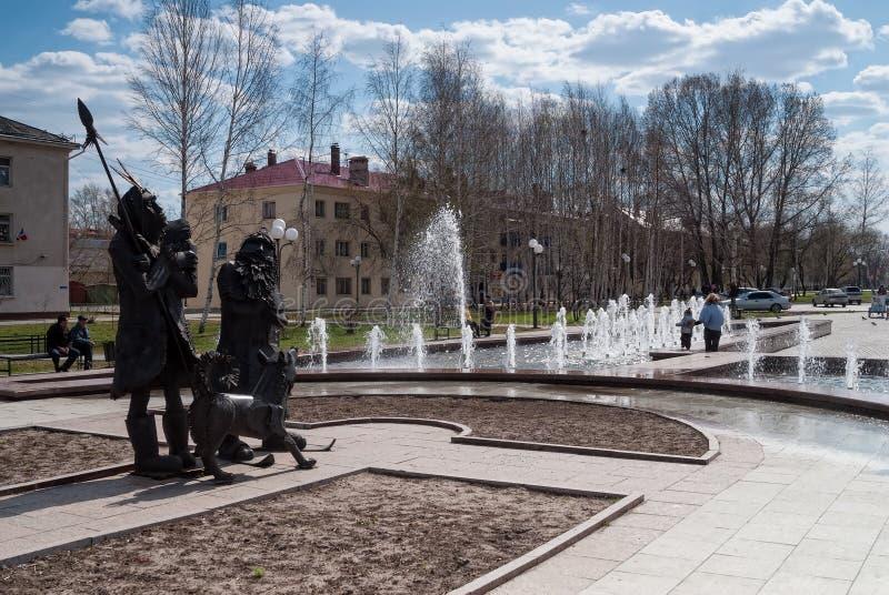 Place de Robinson Crusoe Tobolsk Russie photos stock