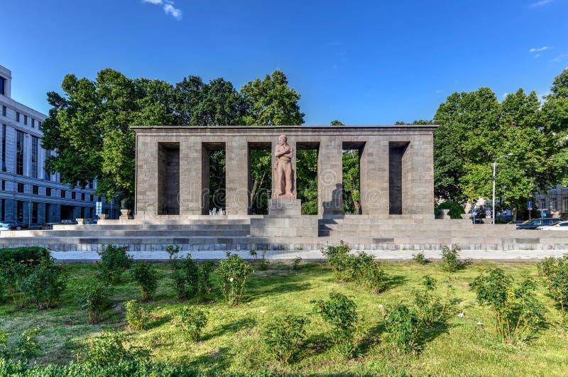 Place de Shahumyan - Erevan, Arménie image libre de droits