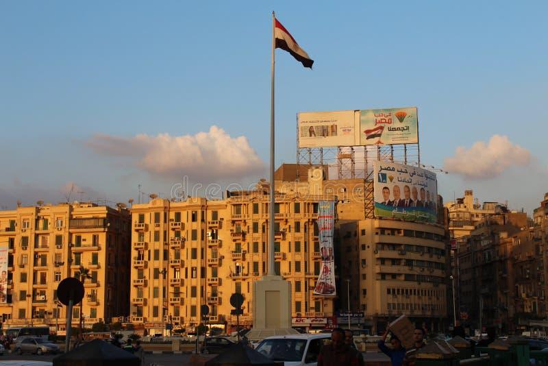 Place de Tahrir, le Caire image libre de droits