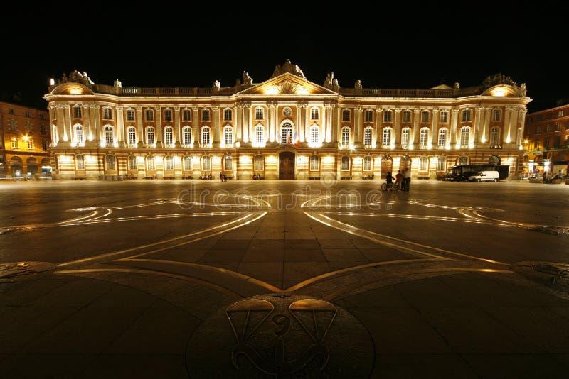 Place de Toulouse de capitol photo stock