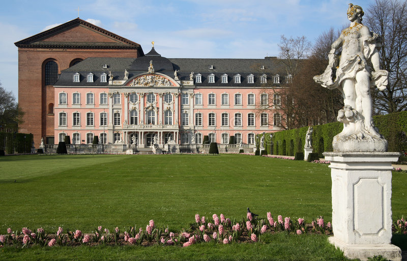 Place de Trier photo libre de droits