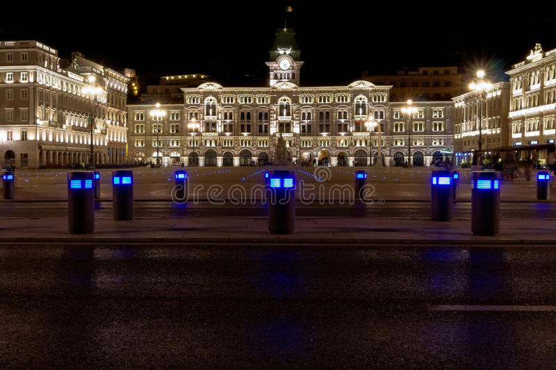 Place de Trieste photo stock