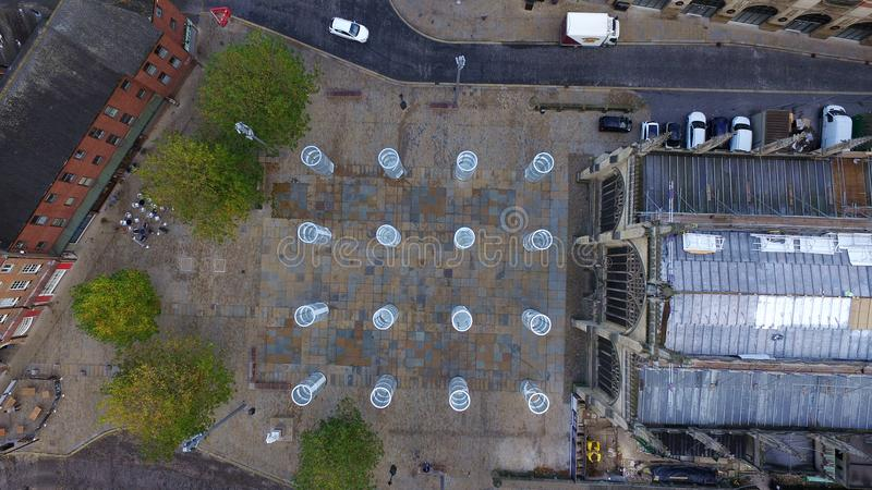 Place de trinité, Kingston Upon Hull photo libre de droits