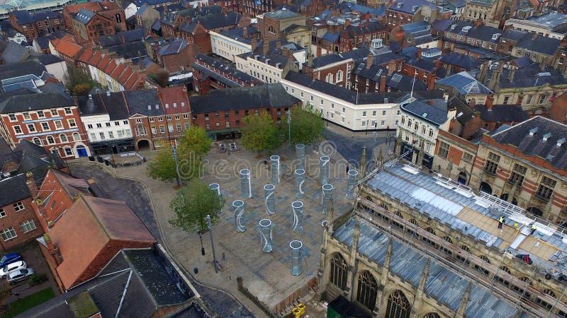 Place de trinité, Kingston Upon Hull photos stock