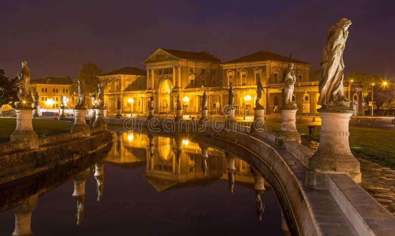 Place de Valle de della de Padoue - de Prato images stock