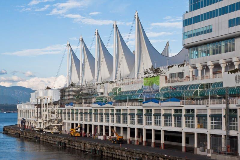 Place du Canada à Vancouver photographie stock libre de droits