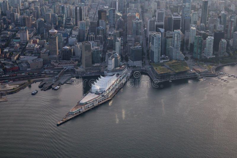Place du Canada à Vancouver du centre image stock