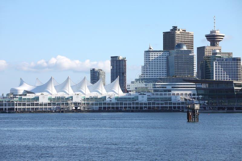 Place du Canada, Vancouver BC Canada. photos stock