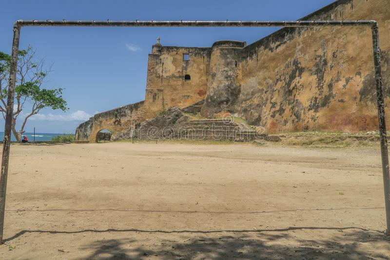 Place du football au Kenya image stock