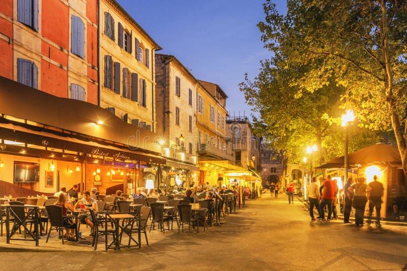 Place du Forum - Arles, Francia immagine stock