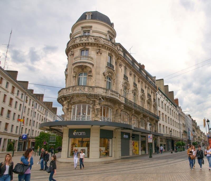 Place du Martroi,奥尔良大广场  库存图片