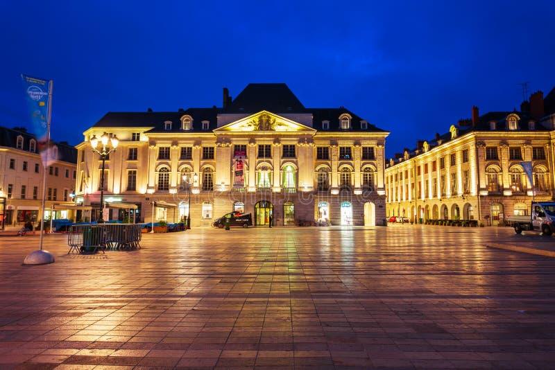 Place du Martroi Square,奥尔良 免版税库存照片