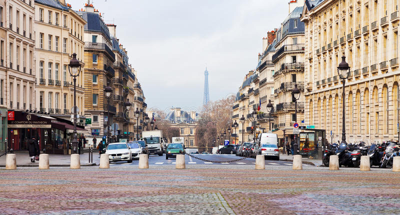 Download Place du Pantheon in Paris editorial stock photo. Image of city - 32117333