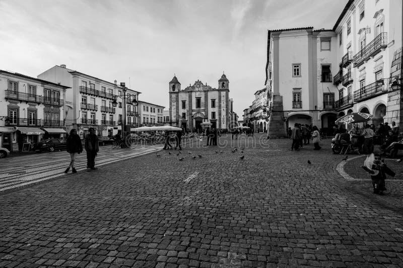 Place du ` s de Giraldo dans le vora de ‰ de à photographie stock libre de droits