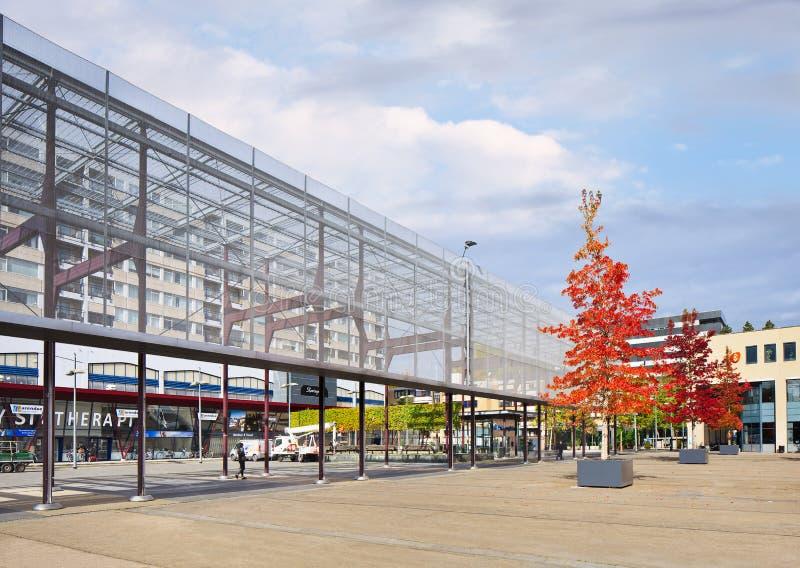 Place du ` s de roi à Tilburg, Pays-Bas image stock