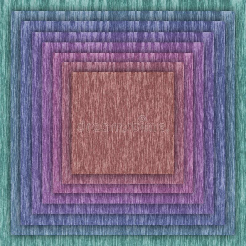 Place et fond multicolores de cadre illustration de vecteur