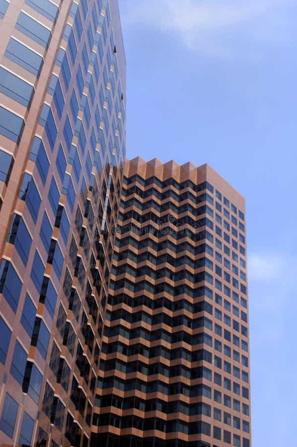 Place financière 7 photo libre de droits