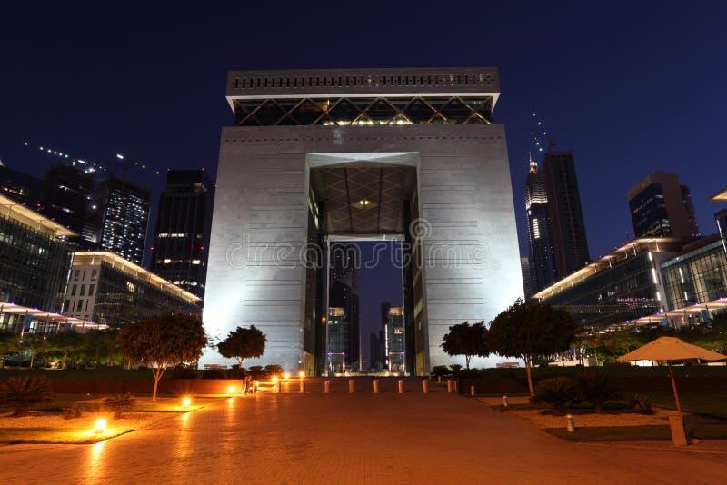 Place financière de Dubaï (DIFC) photos stock