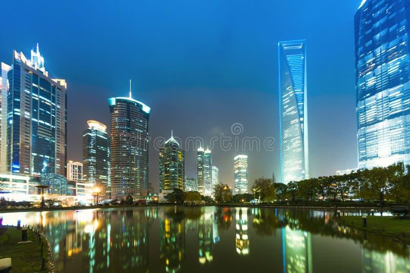 Place financière de lujiazui de Changhaï photographie stock