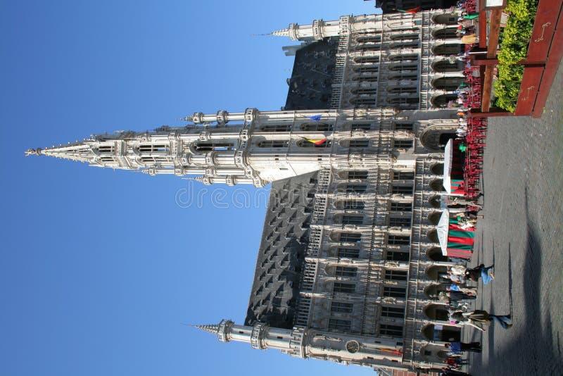 Place grande Bruxelles Cityhall photos libres de droits