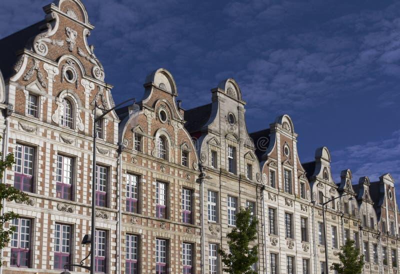 Place grande d'Arras image stock