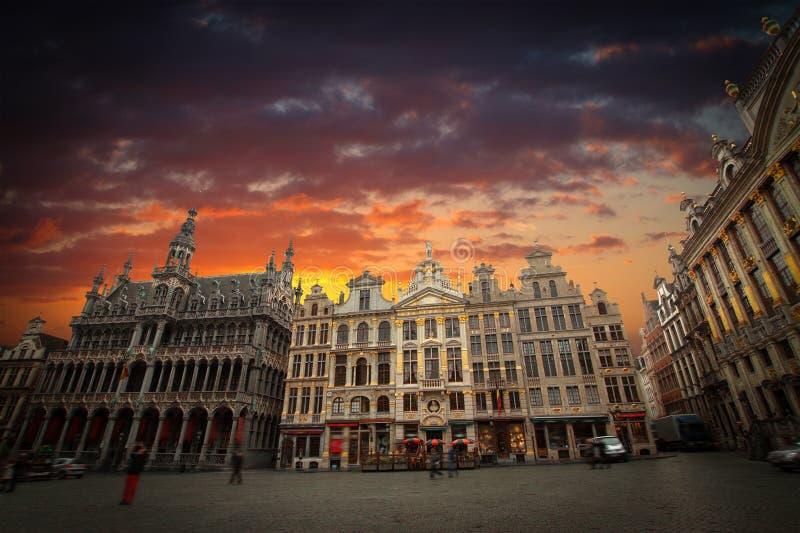 Place grande de Bruxelles photographie stock libre de droits