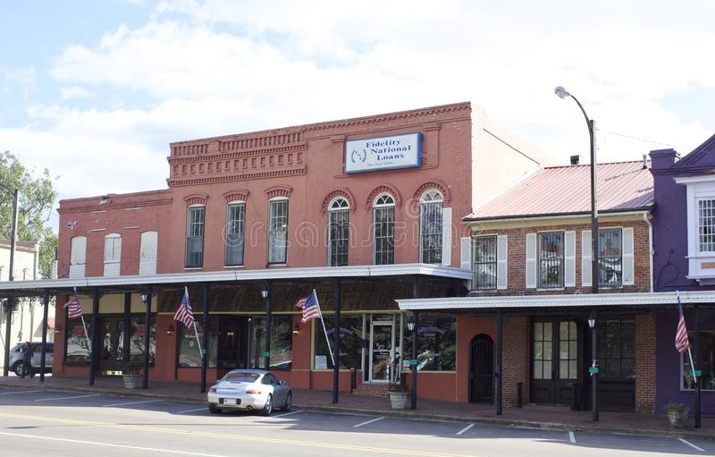 Place Holly Springs, Mississippi photographie stock libre de droits