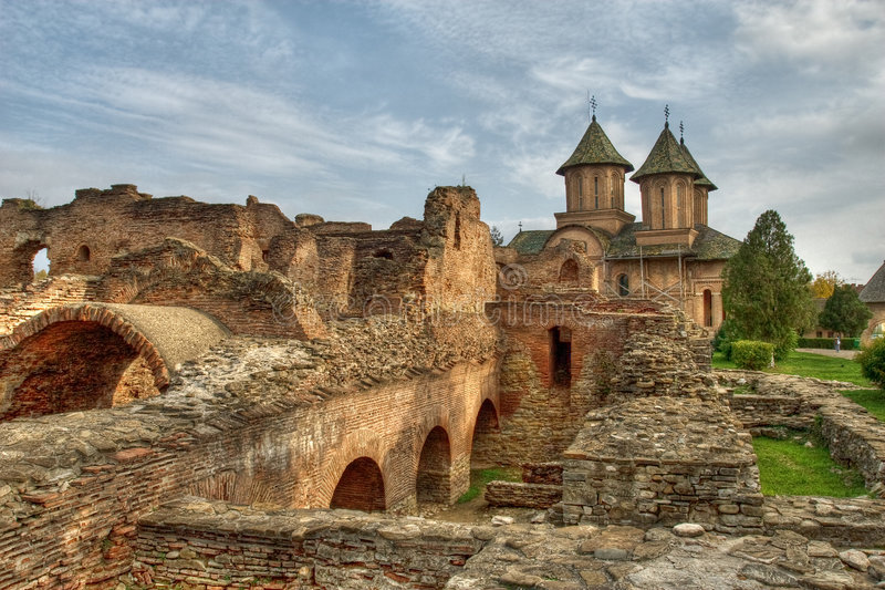 Place médiévale image stock