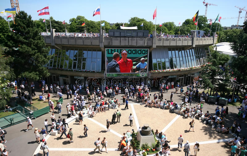 Download Place Of The Musketeers Roland Garros 2011 Editorial Image - Image: 19646385