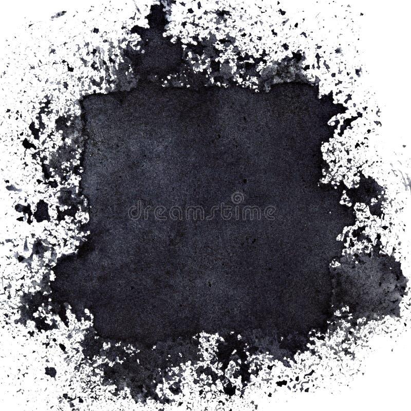 Place noire cachée illustration libre de droits