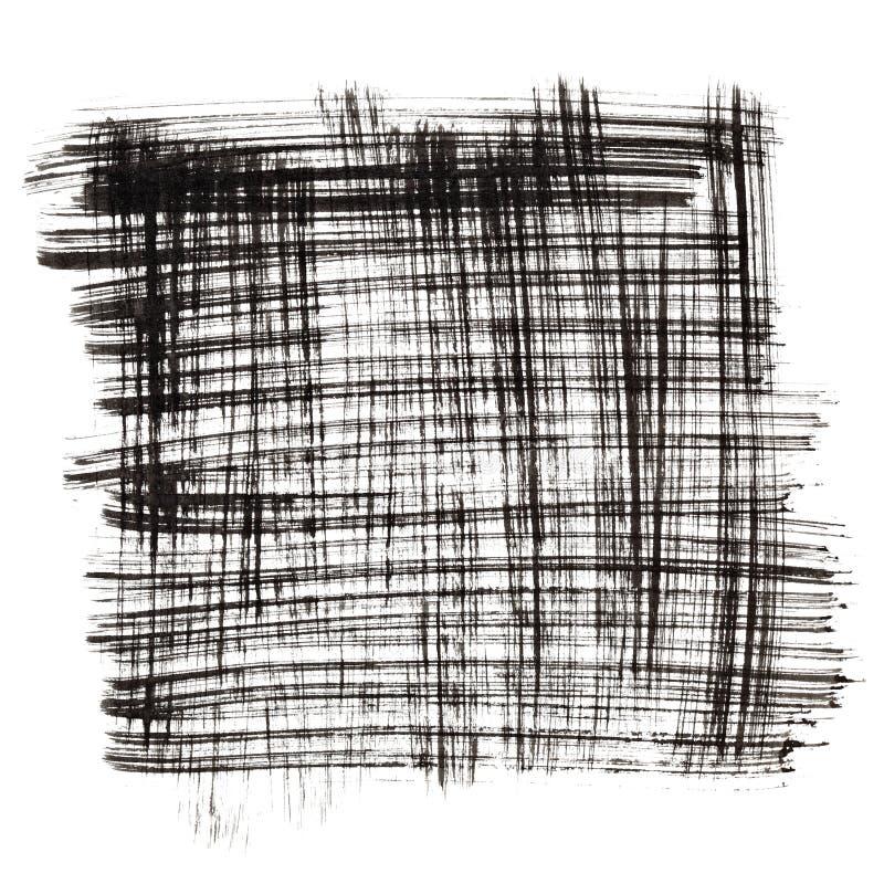 Place par les courses à l'encre noire illustration de vecteur
