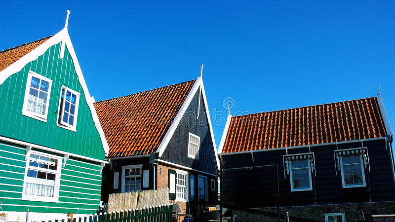 Place of peace, Marken, Netherlands. For some time during the later 19th and early 20th centuries, Marken and its inhabitants were the focus of considerable royalty free stock images