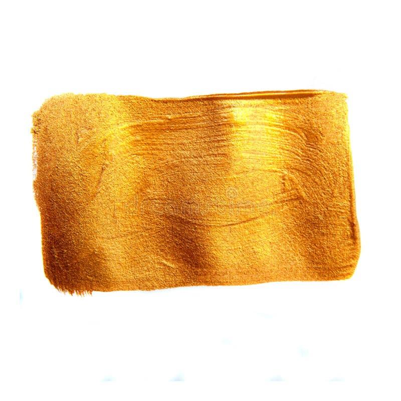 Place peinte d'or photos libres de droits
