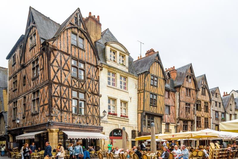 Place plumereau editorial photo image of history loire for Le jardin de la france