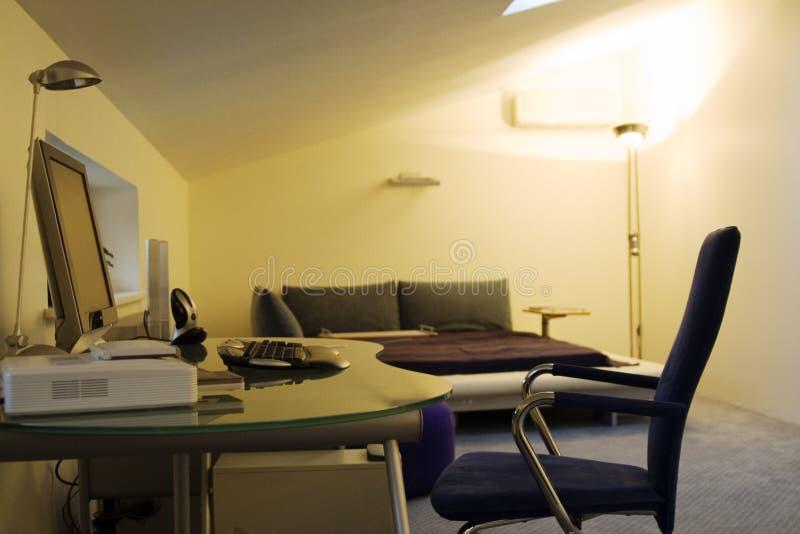Place pour le travail à la maison photos stock