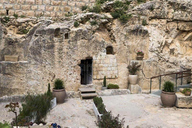 Jesus christ tomb israel royalty free stock photos