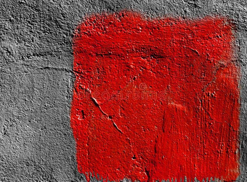 Fond Rouge Gris De Peinture Image stock - Image du rouge ...