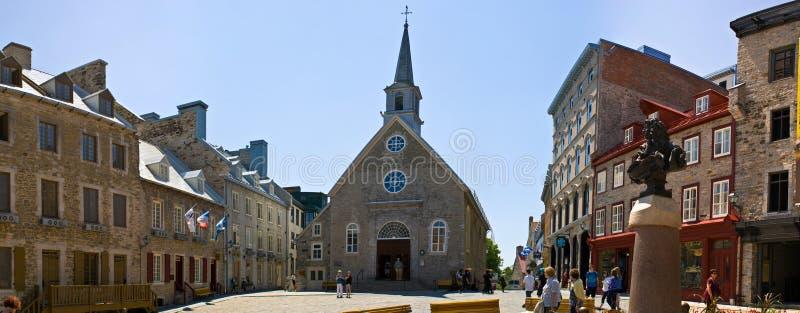 Place royale, Quebec City. Canada royalty free stock photos